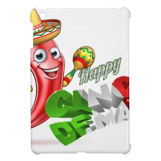 Cinco De Mayo Chilli Pepper Design iPad Mini Cases