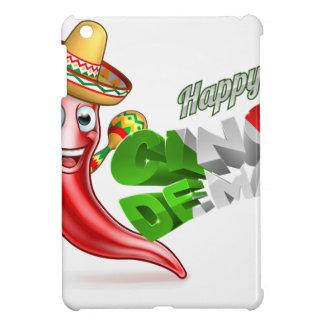 Cinco De Mayo Chilli Pepper Poster Design iPad Mini Cover