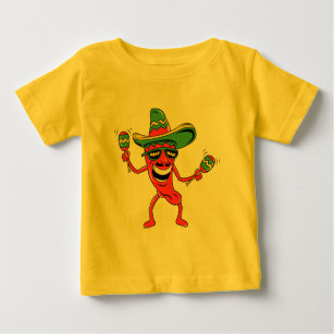 Cinco de Mayo Chilli Pepper T-shirts and Gifts
