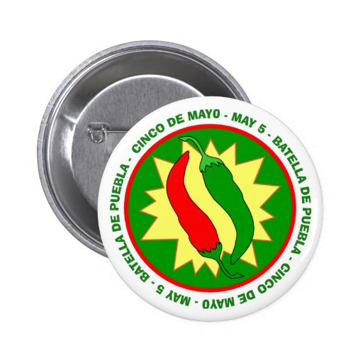 Cinco de Mayo Chilli Peppers Badge