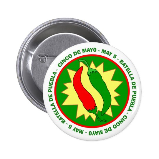 Cinco de Mayo Chilli Peppers Badge