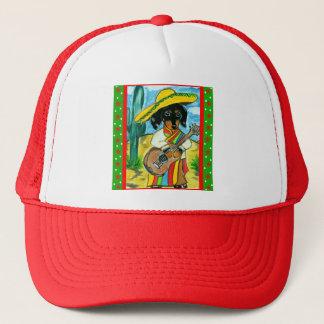 Cinco de Mayo Dachshund Trucker Hat