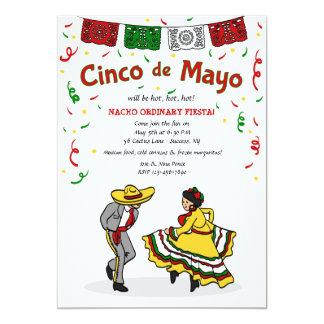 Cinco de Mayo Dancers Invitation