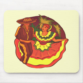 Cinco de Mayo Dancers T-shirts and Gifts Mouse Pads