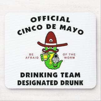 Cinco de Mayo Designated Drunk Mouse Pad