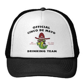 Cinco de Mayo Drinking Team Mesh Hat