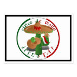 Cinco De Mayo Fiesta!  Cactus with Sombrero Pack Of Chubby Business Cards