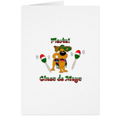 Cinco de Mayo - Fiesta! Greeting Card