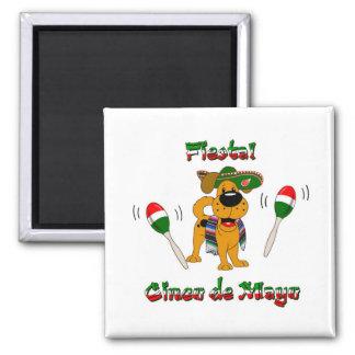 Cinco de Mayo - Fiesta Fridge Magnet