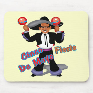 Cinco de Mayo Fiesta T-shirts and Gifts Mouse Pad