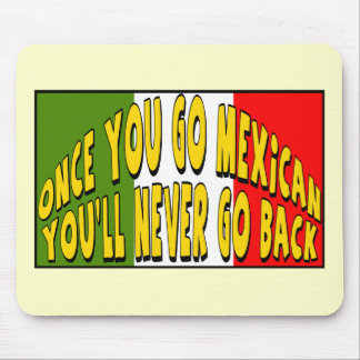 Cinco de Mayo Go Mexican T-shirts and Gifts Mouse Pad