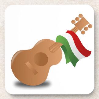 Cinco de Mayo Guitar Drink Coaster