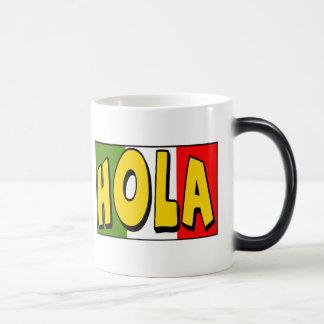 Cinco de Mayo Hola T-shirts and Gifts Morphing Mug