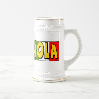Cinco de Mayo Hola T-shirts and Gifts Beer Steins