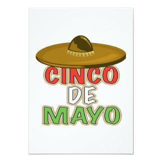 Cinco De Mayo Custom Announcement