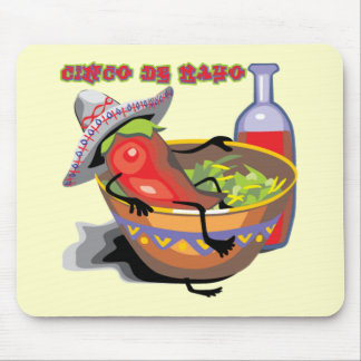 Cinco de Mayo Jalapeno Pepper T-shirts and Gifts Mouse Mats