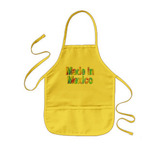 Cinco de Mayo Made In Mexico T-shirts and Gifts Kids Apron