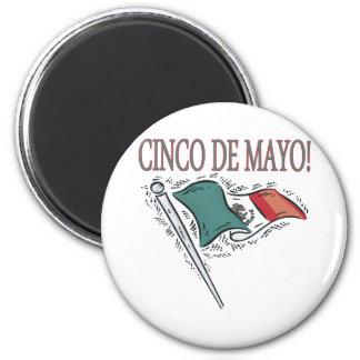 Cinco De Mayo Refrigerator Magnets