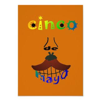 Cinco De Mayo Man Customizable Party Invitation