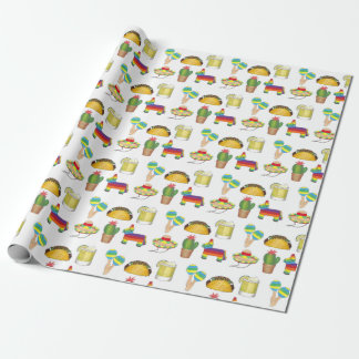 Cinco de Mayo Mexican Fiesta Party Celebration Wrapping Paper