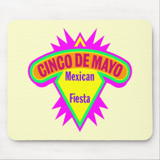 Cinco de Mayo Mexican Fiesta T-shirts and Gifts Mouse Pad