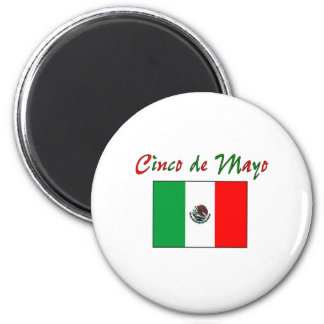 Cinco de Mayo Mexican Flag Shirt Gifts Magnets