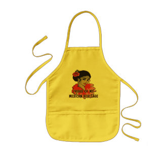 Cinco de Mayo Mexican Hertiage T-shirts and Gifts Kids Apron