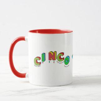 Cinco de Mayo - Mug - Colorful Text
