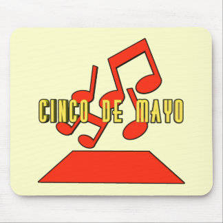 Cinco de Mayo Music T-shirts and Gifts Mouse Pad