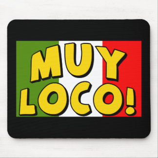Cinco de Mayo Muy Loco T-shirts and Gifts Mouse Pad