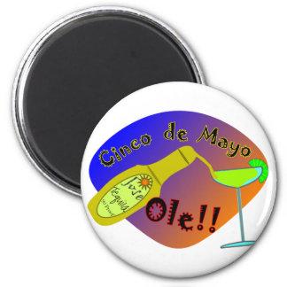 Cinco de Mayo OLE Tequila T-Shirts Magnet