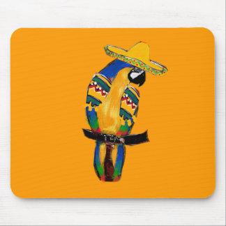 Cinco de Mayo Parrot Mouse Pad