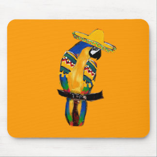 Cinco de Mayo Parrot Mousepad