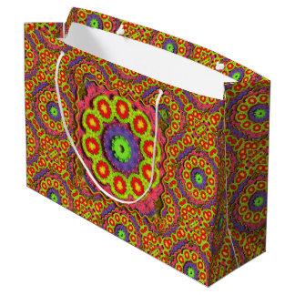 Cinco De Mayo Pinata Abstract Large Gift Bag