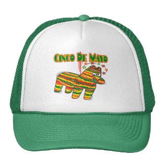 Cinco de Mayo Pinata T-shirts and Gifts Cap