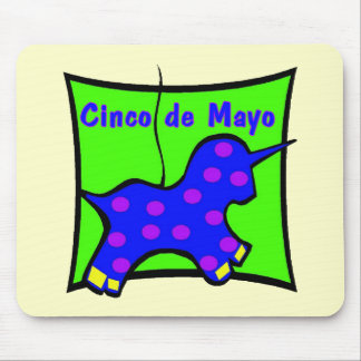 Cinco de Mayo Pinata T-shirts and Gifts Mouse Pad