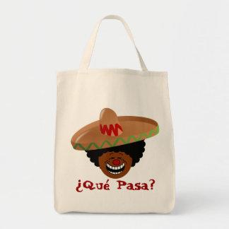 Cinco de Mayo - Que Pasa: Spanish for Funky Fiesta Tote Bag