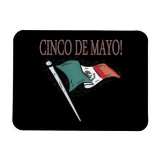 Cinco De Mayo Rectangular Photo Magnet