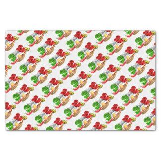 Cinco De Mayo Sign Sombrero Maracas and Pepper Tissue Paper