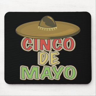 Cinco de Mayo Sombrero T-shirts and Gifts Mouse Pad