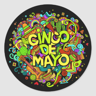 Cinco de Mayo Sticker