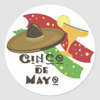 Cinco de Mayo stickers