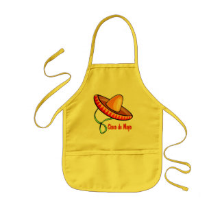 Cinco de Mayo T-shirts and Gifts Kids Apron