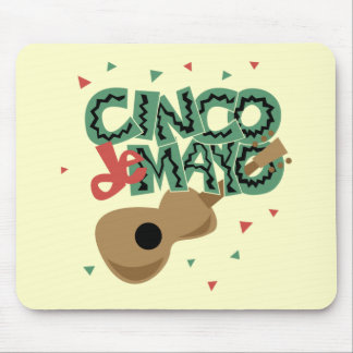 Cinco de Mayo T-shirts and Gifts Mouse Pads