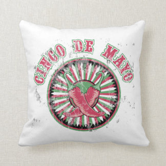 Cinco de Mayo with Peppers Cushion