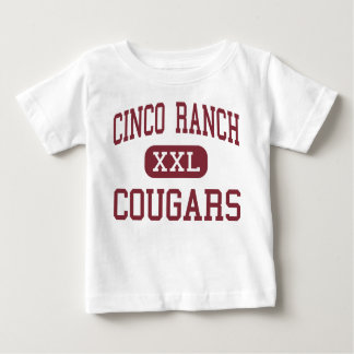 Cinco Ranch - Cougars - High School - Katy Texas Baby T-Shirt