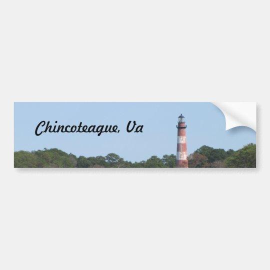 Cincoteague Lighthouse Bumpersticker Bumper Sticker