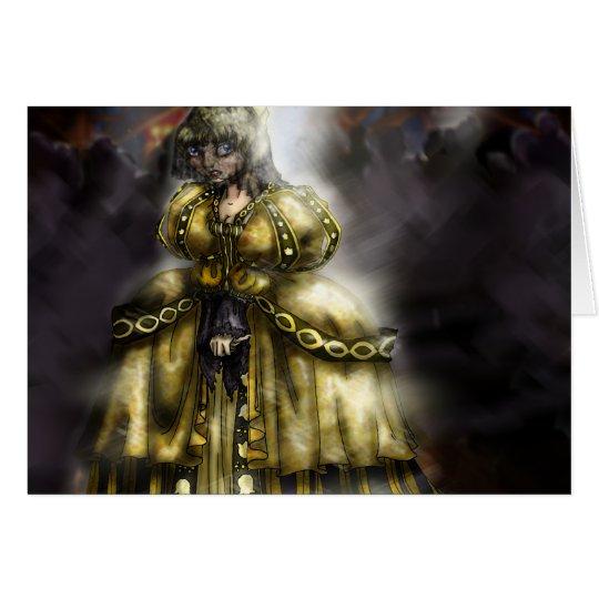 Cinder Girl Card