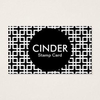 cinder stamp card