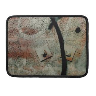 Cinderblock Grafitti MacBook Pro Flap sleeve MacBook Pro Sleeve